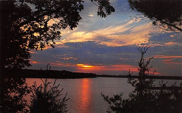 Melody of Color Misc, Massachusetts Postcard