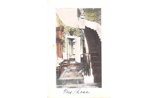 Hall of Hoffman Misc, Massachusetts Postcard