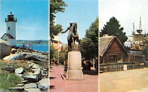 Marvelous Massachusetts Postcard