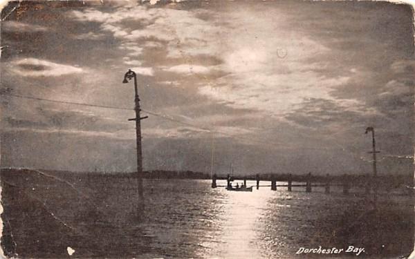 Dorchester Bay Misc, Massachusetts Postcard