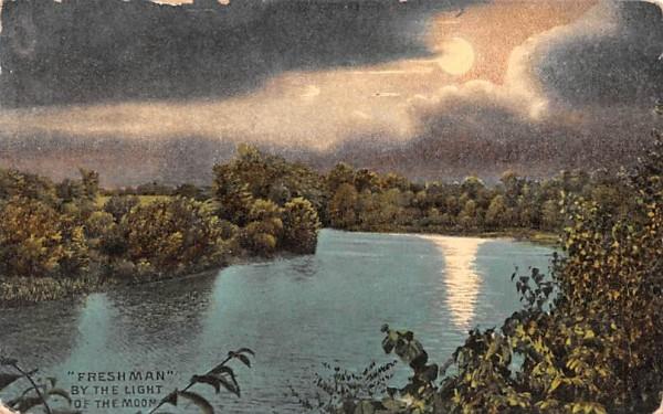 Freshman Misc, Massachusetts Postcard