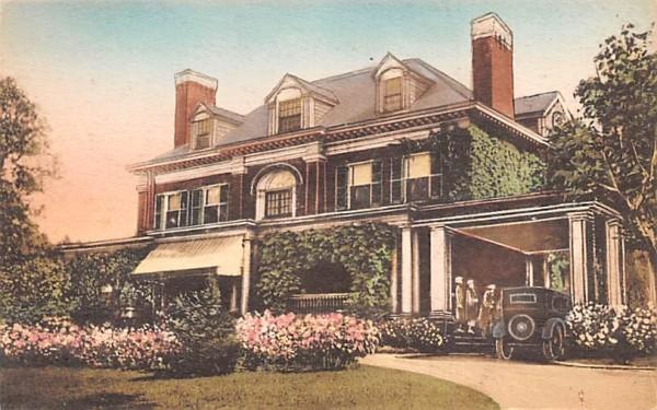 House Misc, Massachusetts Postcard