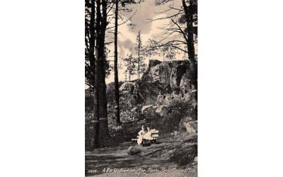 A Rocky NookMalden, Massachusetts Postcard