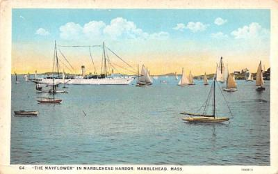 The Mayflower - Marblehead, Massachusetts MA Postcard