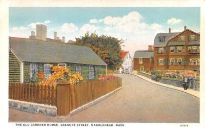 The Old Gardner HouseMarblehead , Massachusetts Postcard