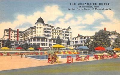 The Oceanside Hotel Magnolia, Massachusetts Postcard