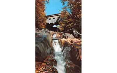 The Mohawk Trail Massachusetts Postcard