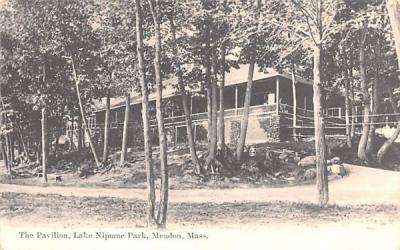 The Pavilion Mendon, Massachusetts Postcard