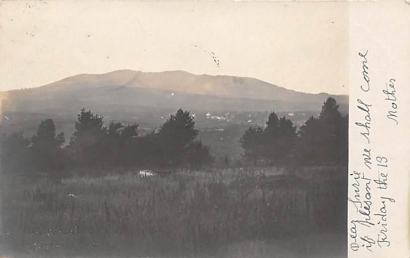 Mountain View - Misc, Massachusetts MA Postcard