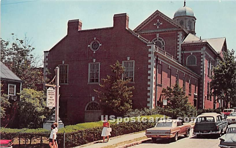 The Whaling Museum - Misc, Massachusetts MA Postcard