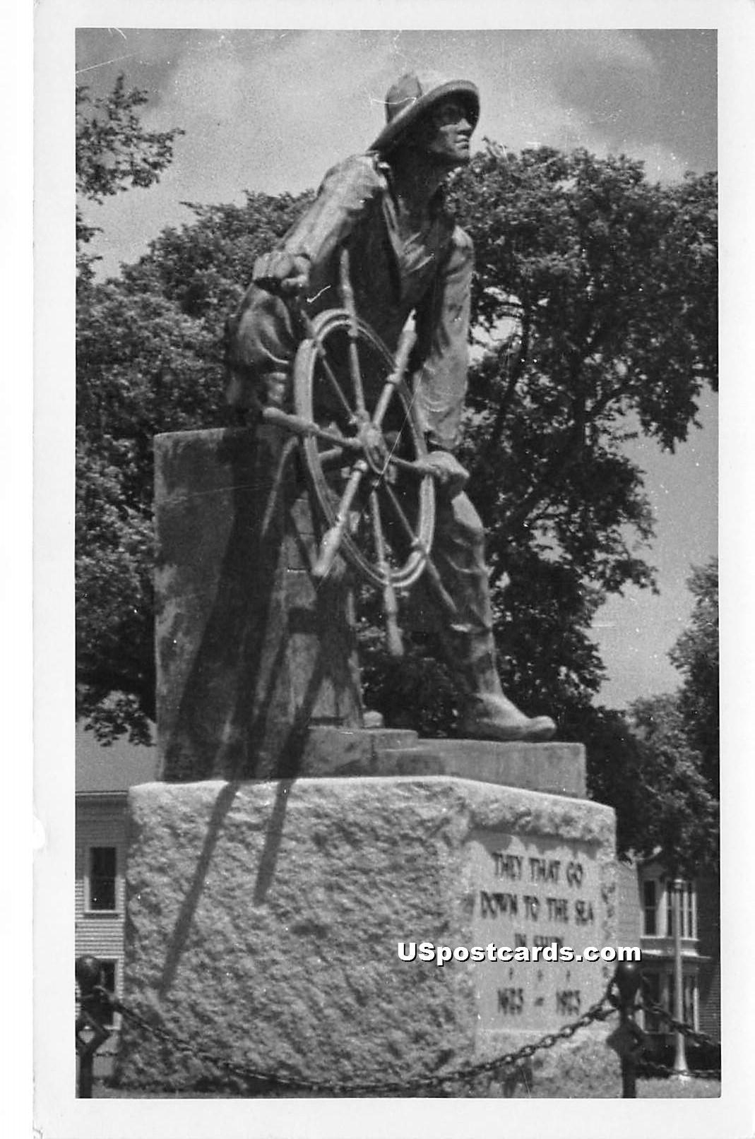 Statue - Misc, Massachusetts MA Postcard