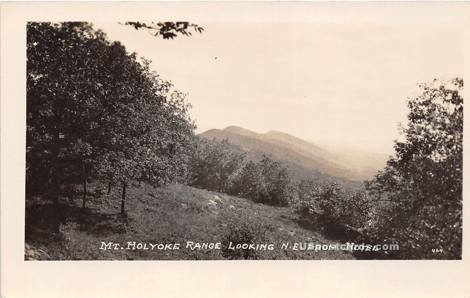 Mt Holyoke Range - Misc, Massachusetts MA Postcard