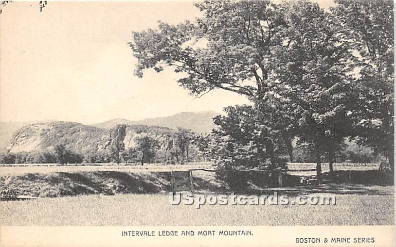 Intervale Ledge & Moat Mountain - Misc, Massachusetts MA Postcard