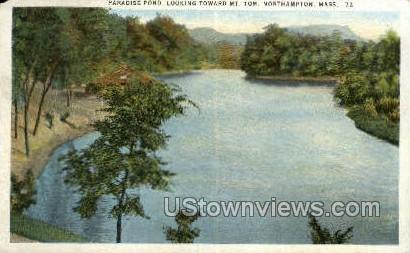 Paradise Pone, Mt. Tom - Northampton, Massachusetts MA Postcard