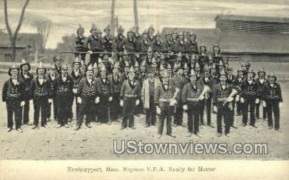 Neptune VFA - Newburyport, Massachusetts MA Postcard