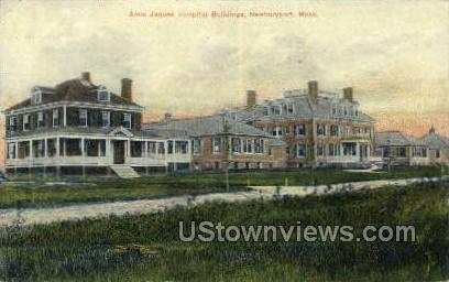 Anna Jaques Hospital - Newburyport, Massachusetts MA Postcard