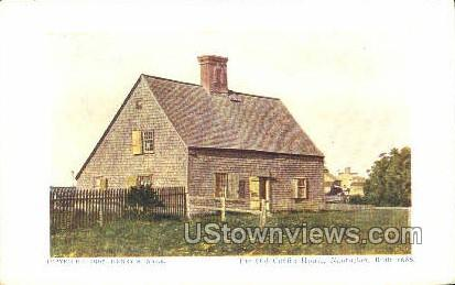 The Old Coffin House - Nantucket, Massachusetts MA Postcard