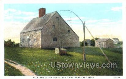 The Jethro Coffin House - Nantucket, Massachusetts MA Postcard