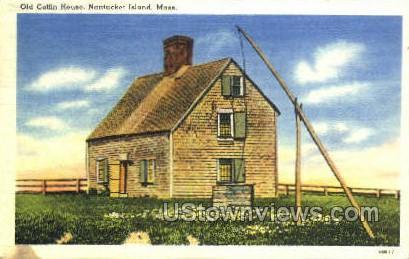 Old Coffin House - Nantucket, Massachusetts MA Postcard