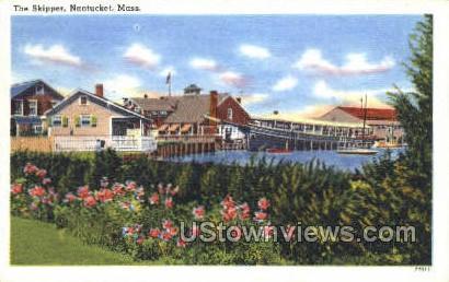 The Skipper - Nantucket, Massachusetts MA Postcard