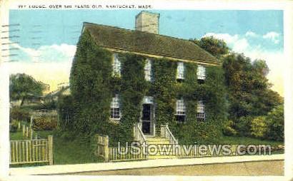 Ivy Lodge - Nantucket, Massachusetts MA Postcard