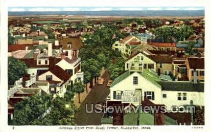 Orange St. - Nantucket, Massachusetts MA Postcard