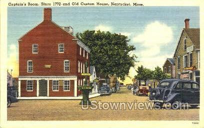 Captain's Room - Nantucket, Massachusetts MA Postcard