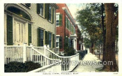 Academy Hill - Nantucket, Massachusetts MA Postcard