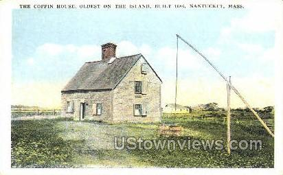 The Coffin House - Nantucket, Massachusetts MA Postcard
