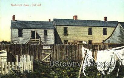 Old Jail - Nantucket, Massachusetts MA Postcard