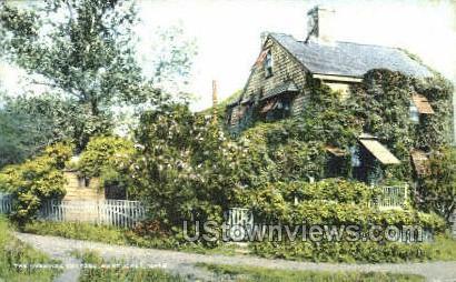 The Overvine Cottage - Nantucket, Massachusetts MA Postcard