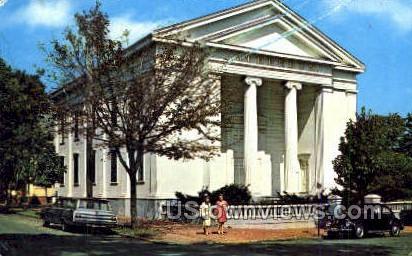 nantucket Atheneum - Massachusetts MA Postcard