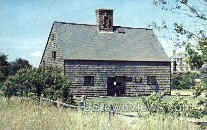 Jethro Coffin House - Nantucket, Massachusetts MA Postcard