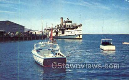 Steamer Nantucket - Massachusetts MA Postcard