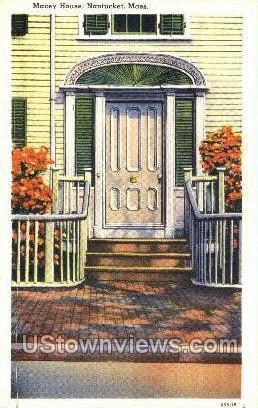 Macey House - Nantucket, Massachusetts MA Postcard