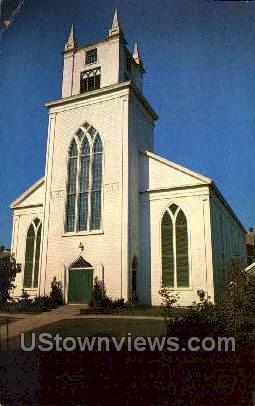 First Congregational Church - Nantucket, Massachusetts MA Postcard