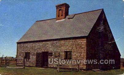 Nantucket's Oldest House - Massachusetts MA Postcard