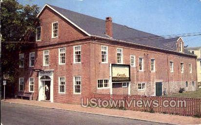 Whaling Museum - Nantucket, Massachusetts MA Postcard