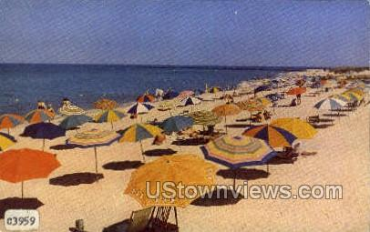 Beach - Nantucket, Massachusetts MA Postcard