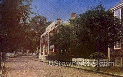 Nantucket House - Massachusetts MA Postcard