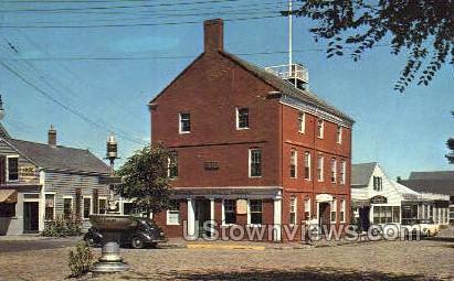 Pacific Club - Nantucket, Massachusetts MA Postcard