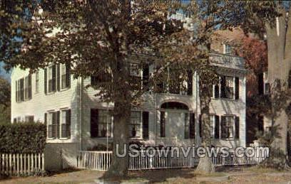 The Macy Mansion - Nantucket, Massachusetts MA Postcard