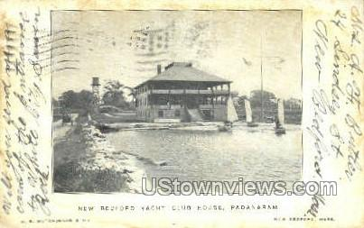 New Bedford Yacht Club House - Massachusetts MA Postcard