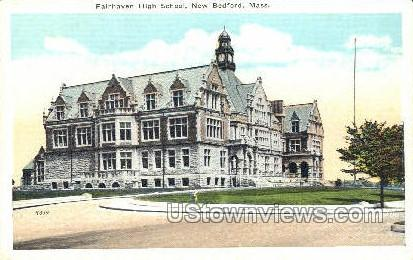 Fairhaven High School - New Bedford, Massachusetts MA Postcard