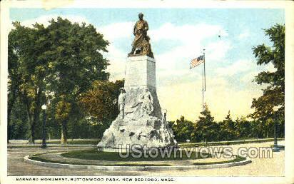 Buttonwood Park - New Bedford, Massachusetts MA Postcard