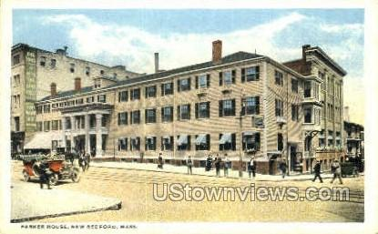 Parker House - New Bedford, Massachusetts MA Postcard