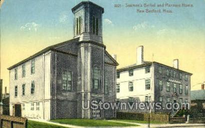 Seamen's Bethel - New Bedford, Massachusetts MA Postcard