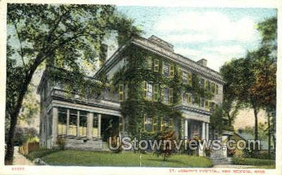 St. Joseph's Hospital - New Bedford, Massachusetts MA Postcard