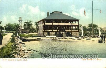 New Bedford Yacht Club - Massachusetts MA Postcard
