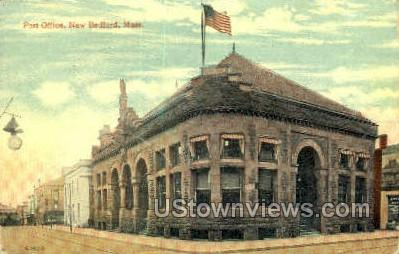 Post Office - New Bedford, Massachusetts MA Postcard